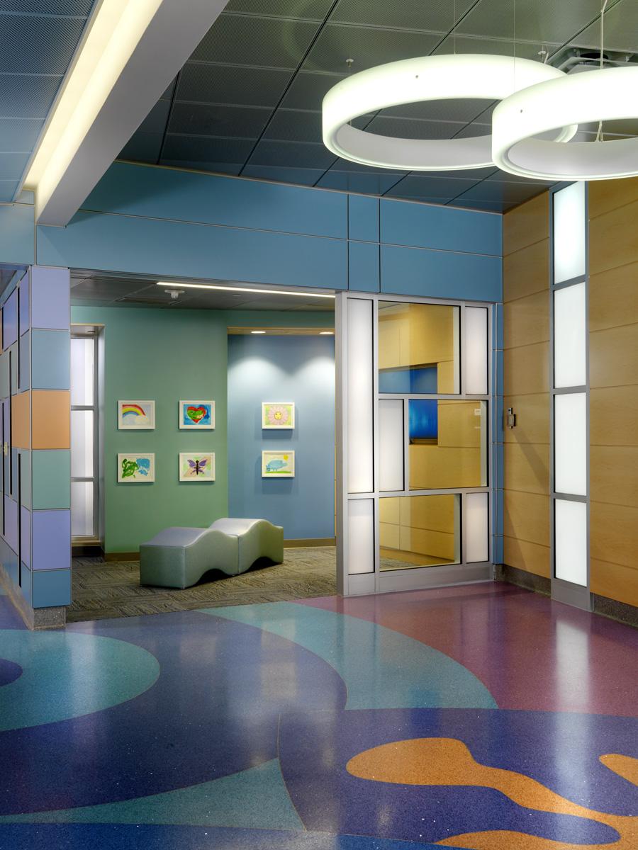 UF Health Shands Childrens Hospital Sebastian Ferrero Atrium