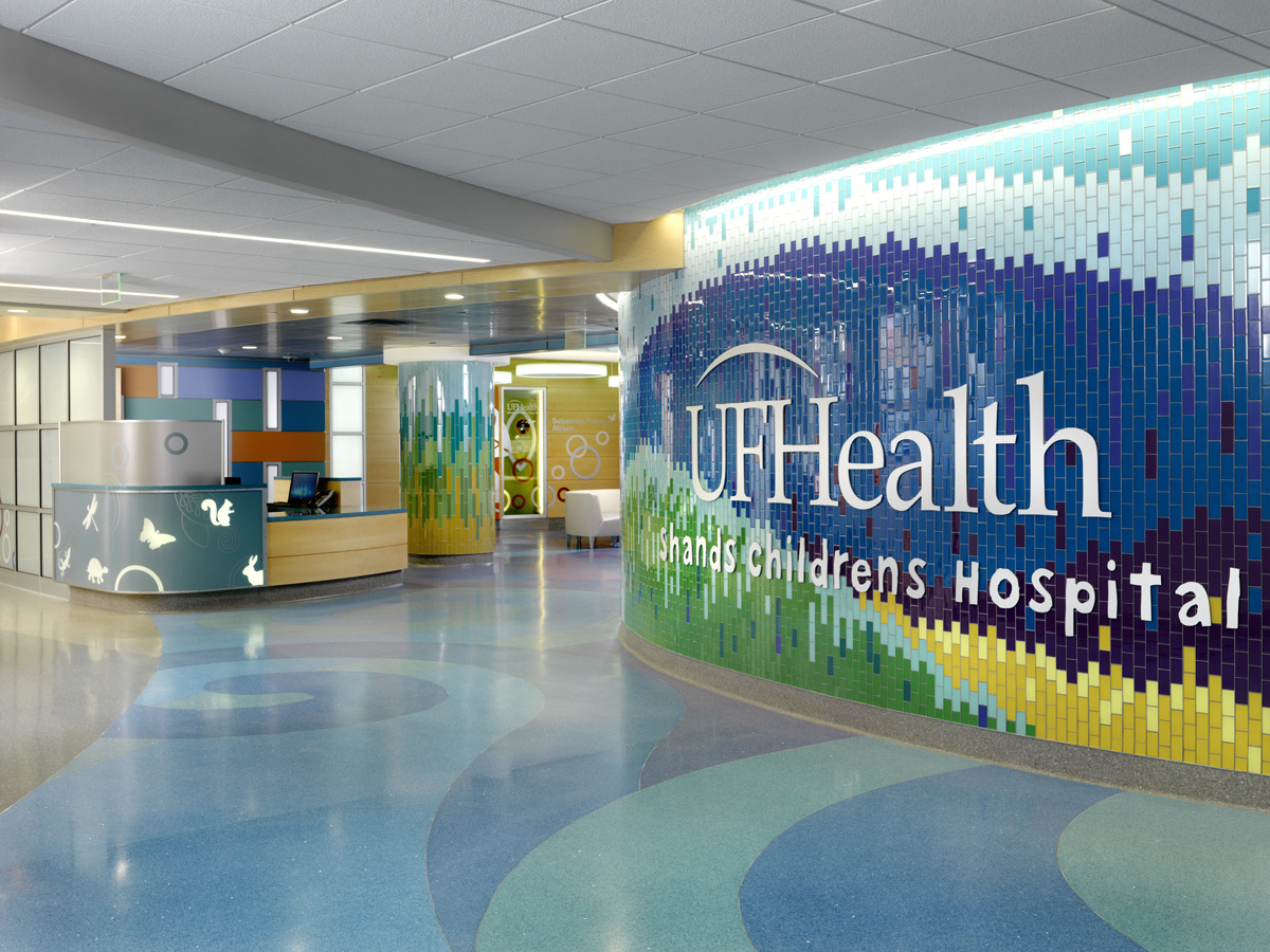 UF Health Shands Children\'s Hospital: Sebastian Ferrero Atrium ...