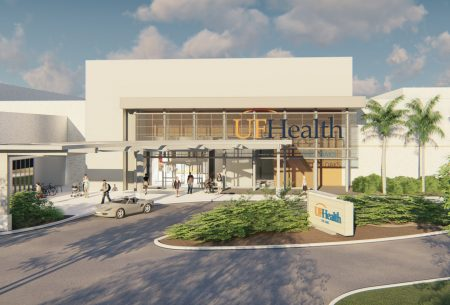 This is a preliminary rendering of UF Health - The Oaks