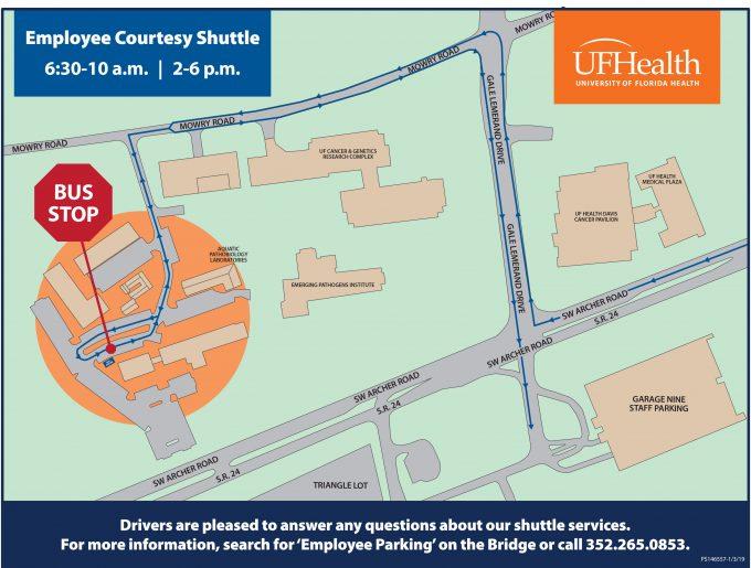 Archer Road Parking Map